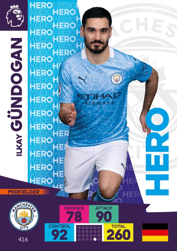Panini Premier League Adrenalyn XL 2020/21 - Ilkay Gündogan