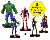 Marvel Universum Figuren-Kollektion: Avengers-Bundle