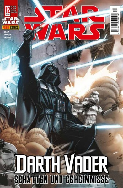 Star Wars 12 - Darth Vader - Schatten und Geheimnisse - Kiosk-Ausgabe