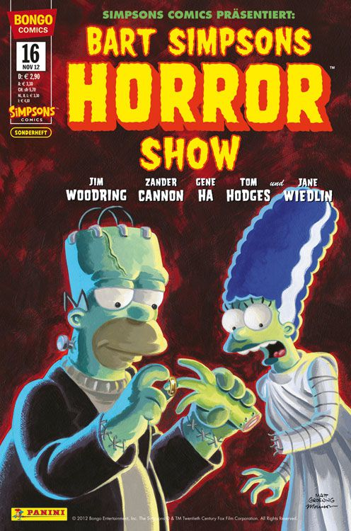 Bart Simpsons Horror Show 16