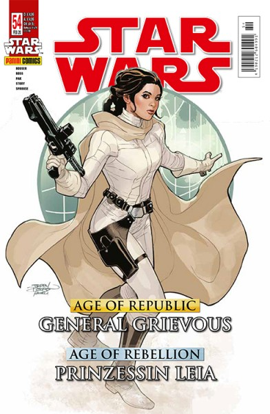 Star Wars 54: Age of Republic - General Grievous & Age of Rebellion: Leia - Kiosk Ausgabe