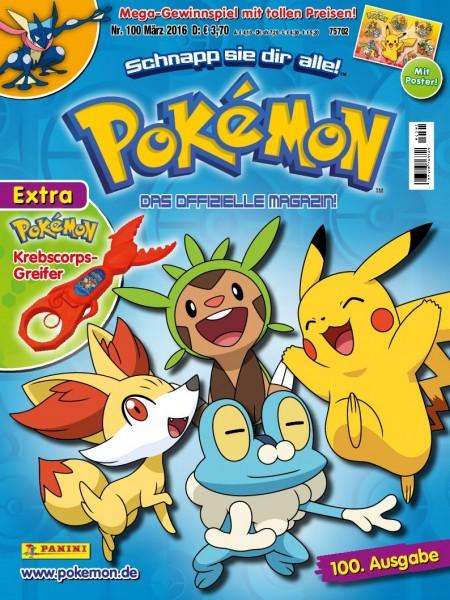Pokémon Magazin 100