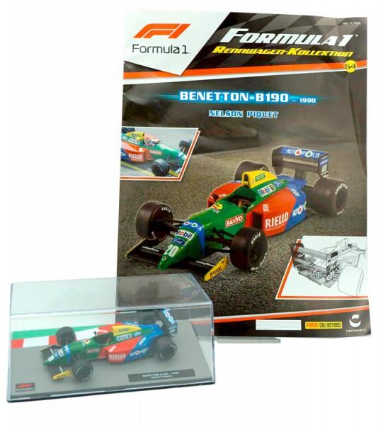 Formula 1 Rennwagen-Kollektion 64: Nelson Piquet (Benetton B190)