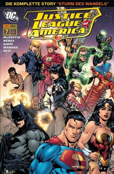 Justice League of America 7: Wiedergeburt