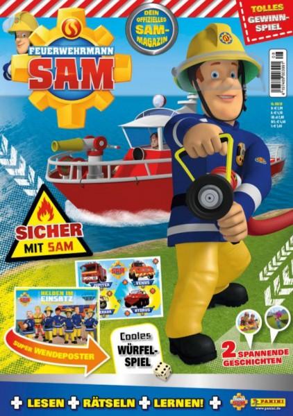 Feuerwehrmann Sam 08/20 Cover
