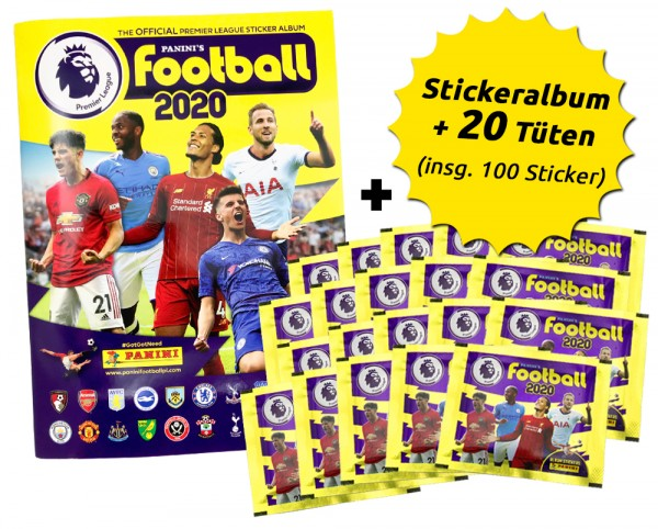 Premier League 2020 Stickerkollektion – Sammelbundle