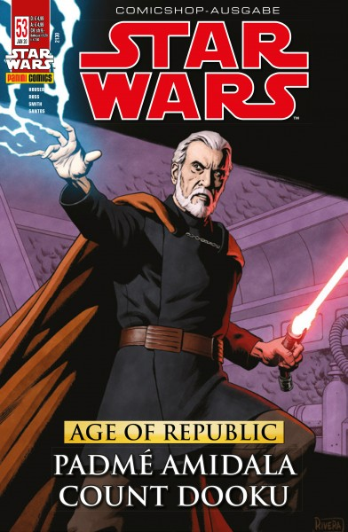 Star Wars 53: Age of Republic - Padmé Amidala & Count Dooku - Comicshop Ausgabe