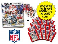 NFL Sticker & Trading Cards 2020 - Kickoff-Bundle