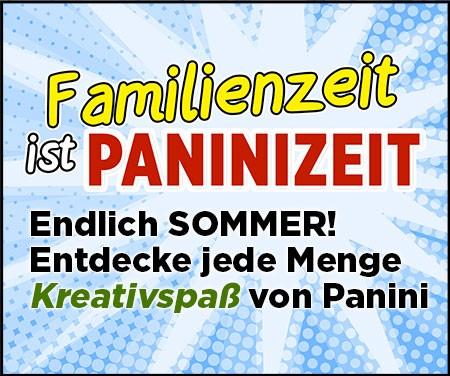 Familienzeit ist Paninizeit – endlich Sommer! Entdecke jede Menge Kreativspaß von Panini