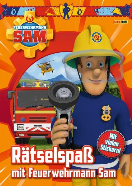 Feuerwehrmann Sam - Rätselspaß mit Feuerwehrmann Sam