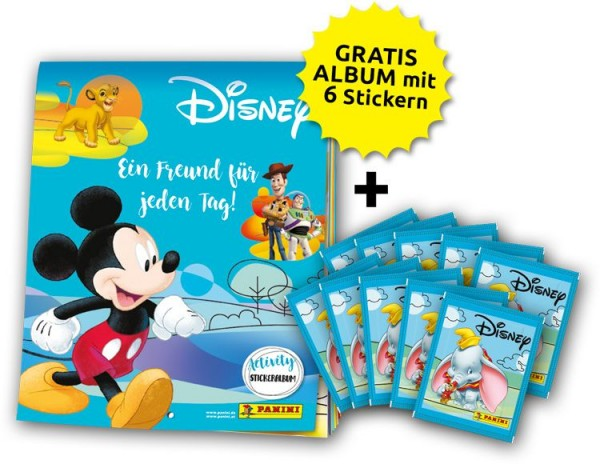 Disney - Mix Stickerkollektion – Schnupperbundle