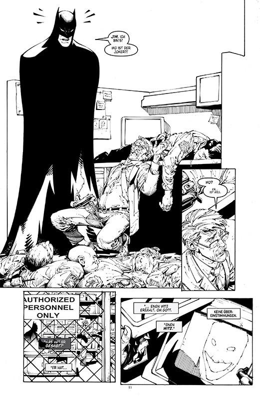 Batman Noir: Der Tod der Familie Blick in den Comic 2