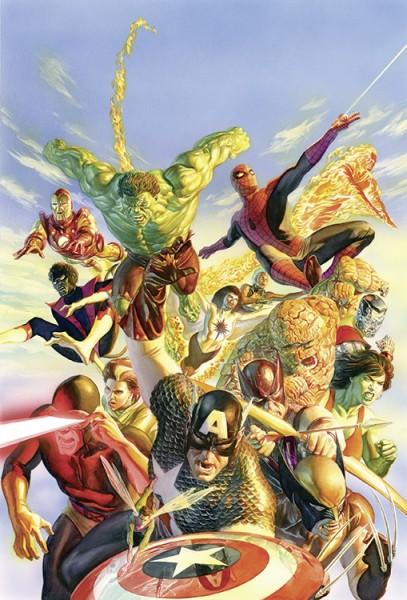 Marvel Treasury: Die besten Marvel-Geschichten aller Zeiten