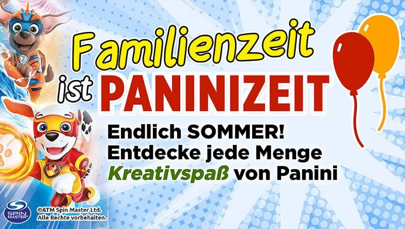 Familienzeit ist Paninizeit: Endlich Sommer – Entdecke jede Menge Kreativspaß von Panini