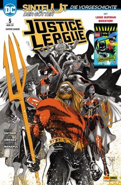 Justice League 5: Sintflut der Götter - Die Vorgeschichte