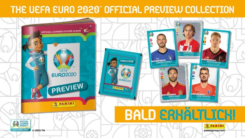 The Uefa Euro 2020 Official Preview Collection – bald erhältlich