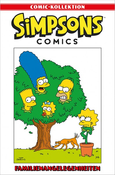 Simpsons Comic-Kollektion 56: Familienangelegenheiten Cover