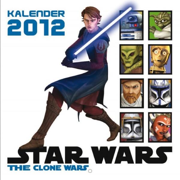 Star Wars Clone Wars - Wandkalender (2012)