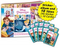 Disney Prinzessin  - Das Herz einer Prinzessin - Sticker und Trading Cards - Schnupperbundle