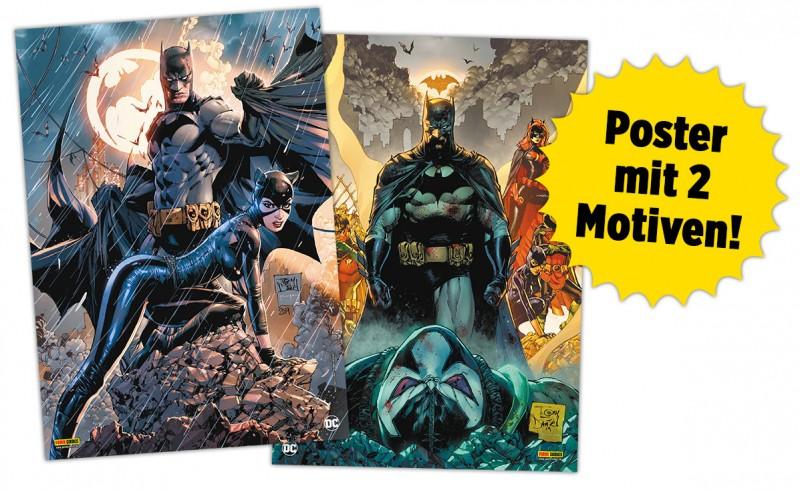 Batman-Tag Poster mit 2 Motiven