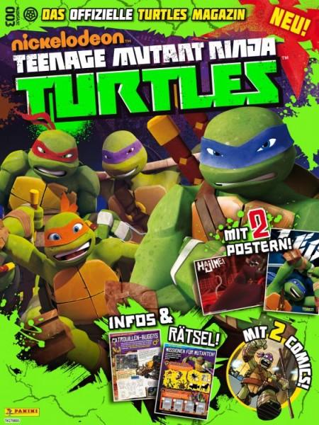 Teenage Mutant Ninja Turtles - Magazin 3