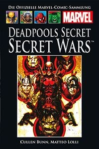 Hachette Marvel Collection 150: Deadpools Secret - Secret Wars