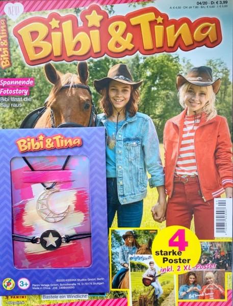 Bibi und Tina Magazin 04/20 Cover mit Extra