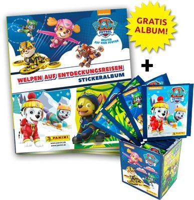Paw Patrol Stickerkollektion - Sticker-Starter-Bundle 2