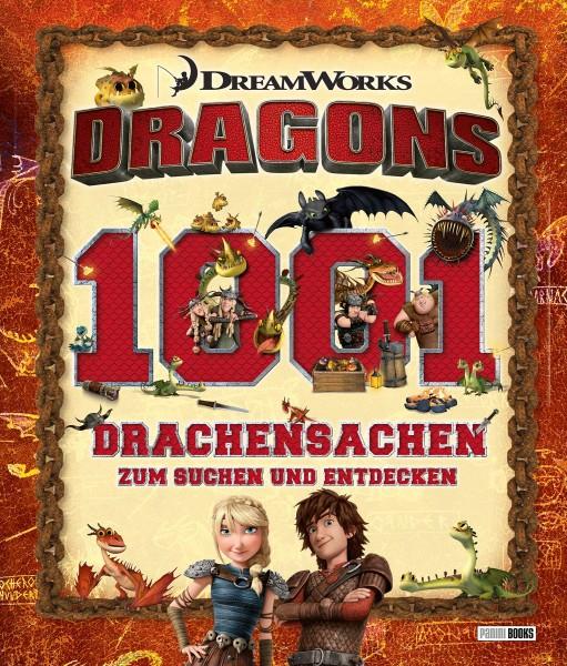 Dragons - 1001 Drachensachen zum Suchen und Entdecken
