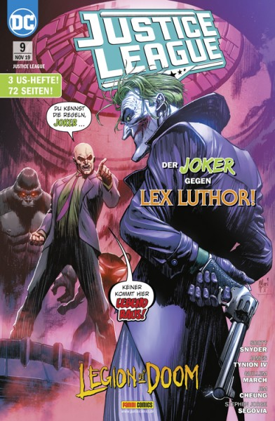 Justice League 9: Der Joker gegen Lex Luthor!