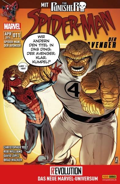 Spider-Man, der Avenger 11