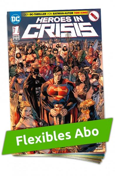 Flexibles Abo - Heroes in Crisis Heft