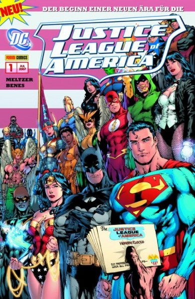 Justice League of America Sonderband 1: Aus der Asche