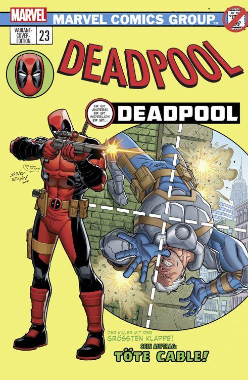Deadpool 23 (2016) Comic Salon...