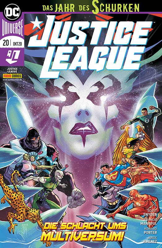 Justice League 20: Die Schlacht ums...