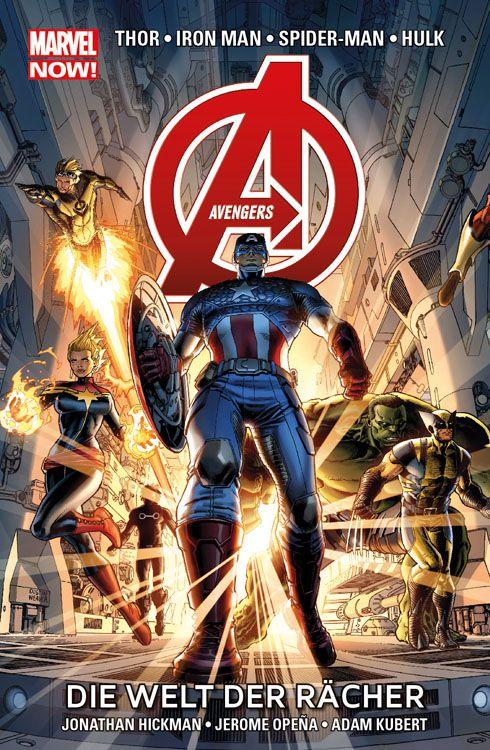 Avengers Paperback 1 (2014): Die Welt...