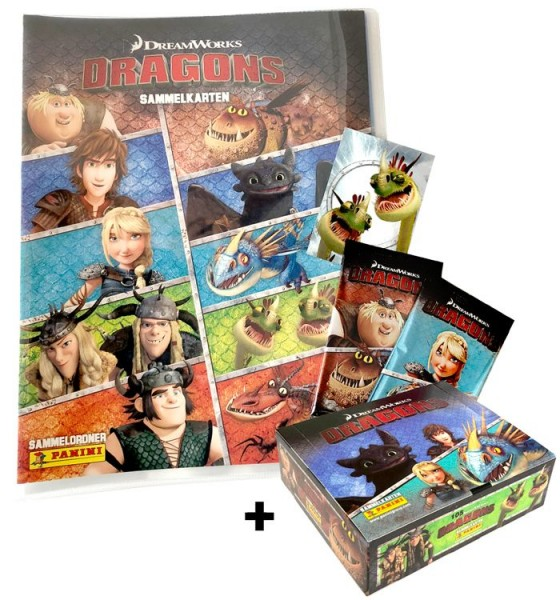 Dragons Trading Cards-Kollektion - Box-Bundle