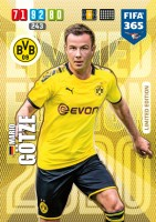 Panini FIFA 365 Adrenalyn XL 2020 Kollektion – LE-Card Mario Götze