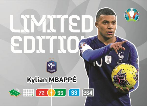 Euro 2020™ LE-Card: Kylian Mbappe (Frankreich)