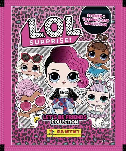 L.O.L. Surprise! Let's be Friends Sticker und Trading Cards 2019 - Tüte