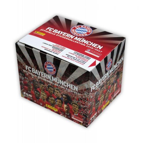 FC Bayern München 2016/2017 Sticker Kollektion - Box mit 36 Tüten