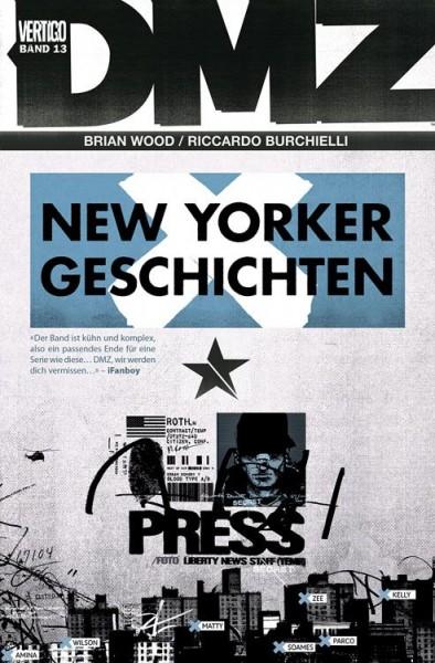 DMZ 13: New Yorker Geschichten