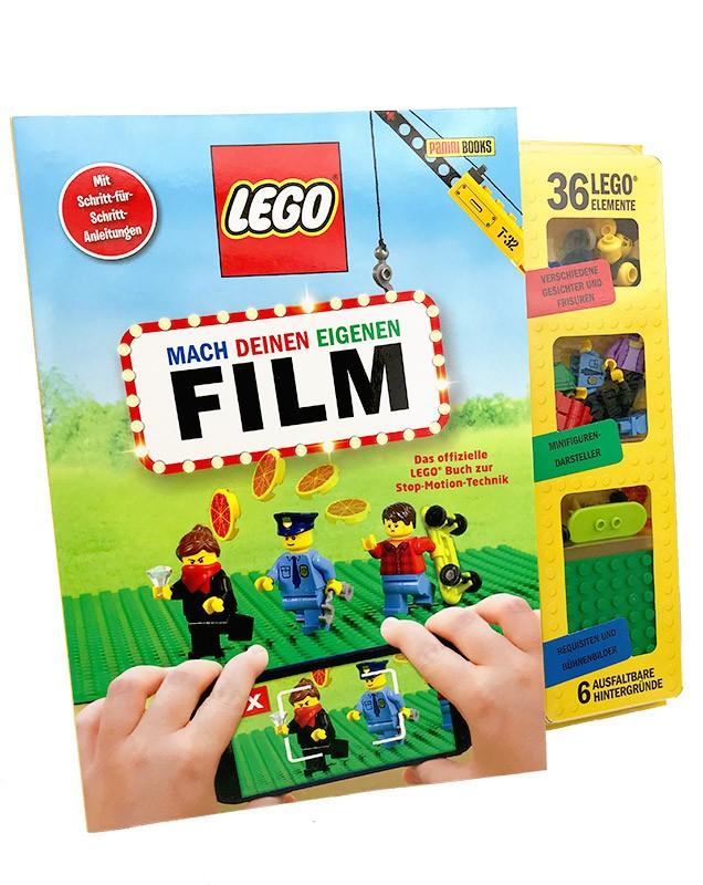 Lego Buch – Mach deinen eigenen Film mit Legoelementen und Schritt-für-Schritt-Anleitungen
