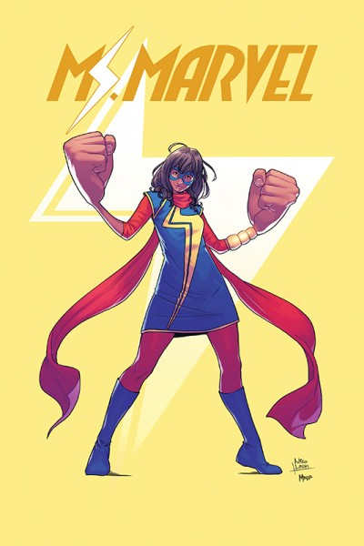 Ms. Marvel: Kamala Khan Cover