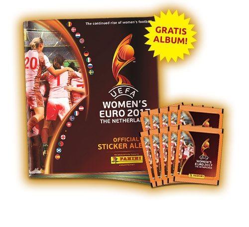 UEFA Women's Euro 2017 Stickerkollektion zur Fußball Europameisterschaft der Frauen - Bundle 2