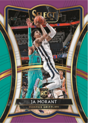 NBA Select 2019-20 Trading Cards - Hobbybox - Ja Morant