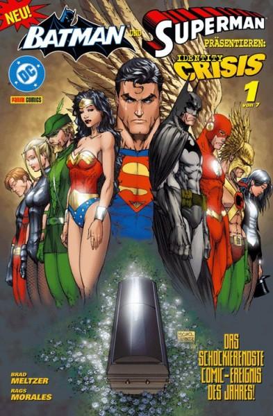Batman und Superman präsentieren: Identity Crisis 1
