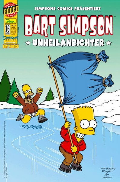 Bart Simpson Comics 16
