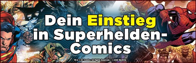 Dein Einstieg in die Welt der Superheldencomics – Batman, Spider-man oder Superman