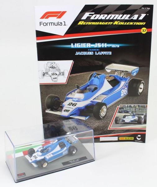 Formula 1 Rennwagen-Kollektion 37: Jaques Lafitte (Ligier JS11)